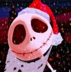 Jack Skellington as Santa