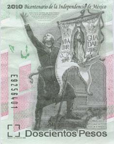 200 Mexican Pesos