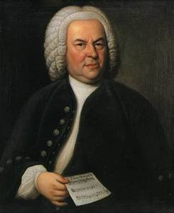 J.S. Bach in his official Guild portrait