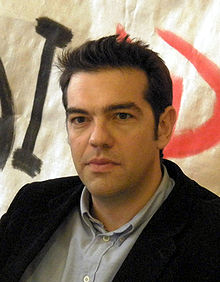 Alexis Tsipras, PM of Greece.
