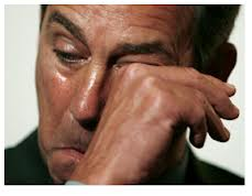 It's enough to make Boehner cry.  Wait, no it's not.