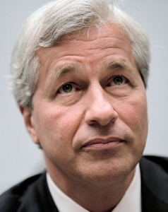 Jamie Dimon, CEO of JP Morgan.