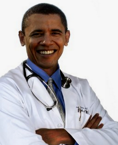 Like it or not, Dr. Obama is in da house!