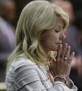 Sen Wendy Davis (D-Forth Worth)