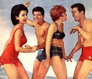 Summertime Party!  Just pretend it's the 1950s.  Don't worry, everyone looks dorky.
