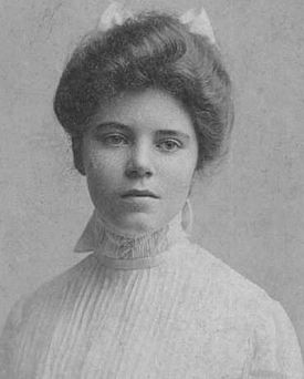 Alice Paul, whose tireless efforts made this day possible