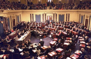 The US Senate. Imagine if they had something they had to do.