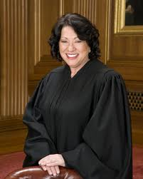 Justice Sotomayor.