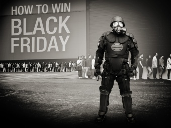It's the industrial and military precision that makes Black Friday everything it is.