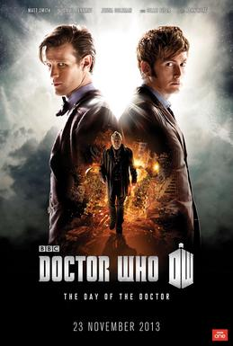 "The official post for ""The Day of the Doctor"""