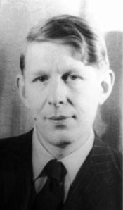 W H Auden in 1939
