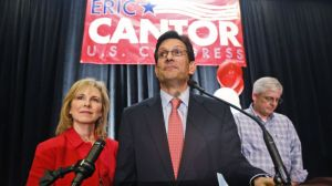 Cantor at his concession.