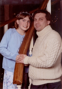 At the Father Daughter Dance, February 2005