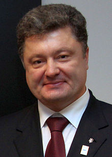 Petro Poroshenko.  He has a lot to get done, and fast.