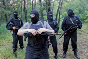 To be fair, Ukraine has its own wackos with guns ready to battle the Russian wackos with guns.
