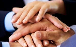 Many hands make the work lighter.  Connections make things happen.