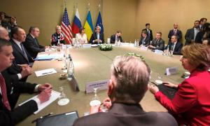 It took a lot of people at the table to get Ukraine and Russia to even talk about setting up an arrangement.