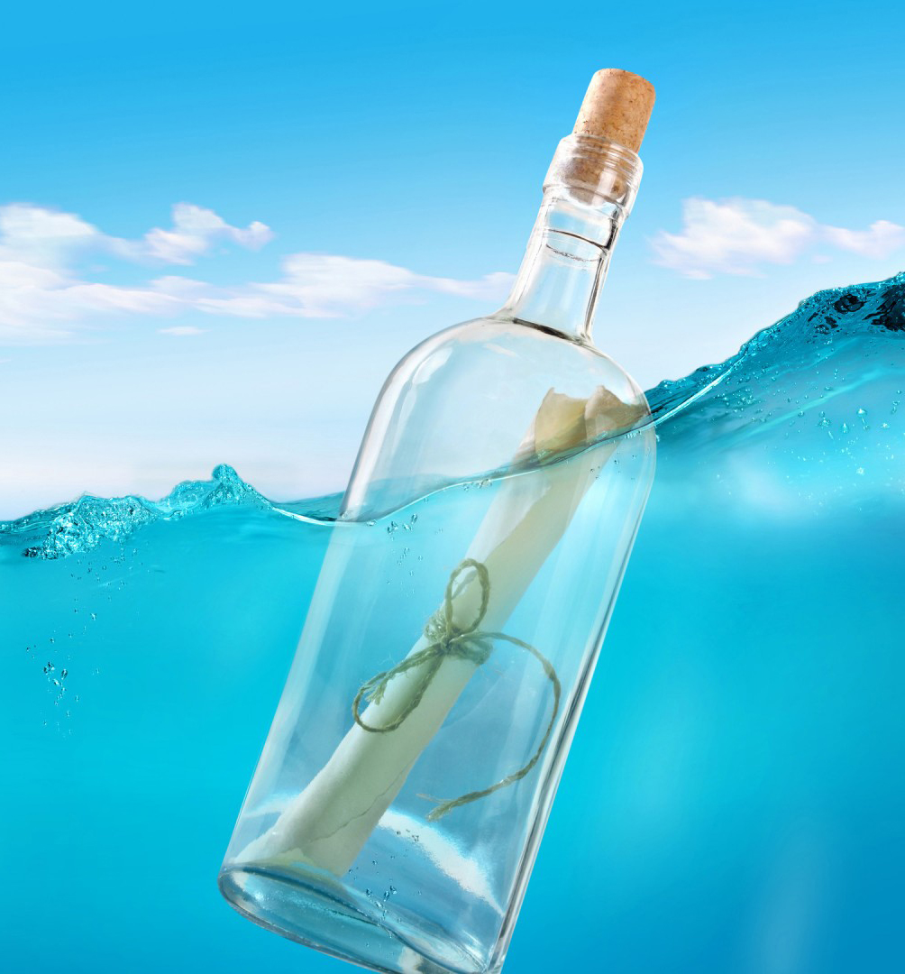 Message in a Bottle Creative Writing