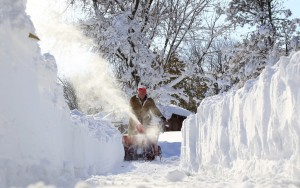 Eight feet of snow in three days could not have been fun.