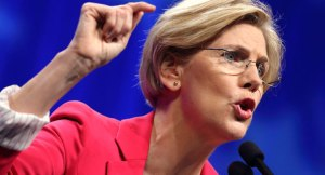 Sen. Warren in fighting form.