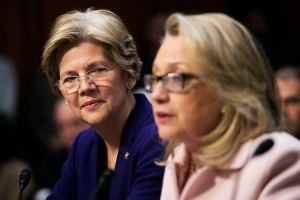 Warren, like Clinton, wants to win - for what she believes in.