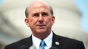 Rep Gohmert has his eye on something.  I'm not sure I want to know what.