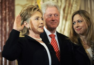 Someone new will take the oath in 2017.  Will it be Hillary Clinton?