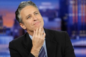 Jon Stewart, the only for sure winner, plots his next move.