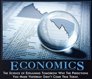 Economics has too much hand-waving to be an exact science.  But it tries.