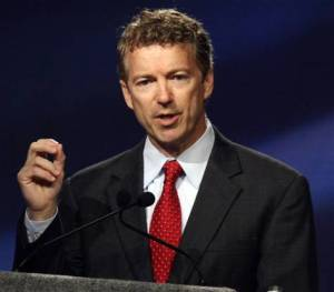 Sen Rand Paul (R-KY) is choosing to grandstand over doing actual work.