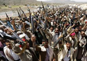 Houthi Rebels in Yemen.  They are winning, though Saudi Arabia is now intervening.