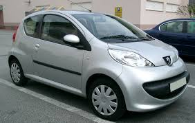 The Peugeot 107 - it's exactly the same as the Toyota Aygo, and sold in the same markets.