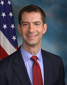 Sen Tom Cotton (R-AR).  Yes, he is that wet behind the ears.