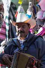 Why so many accoridan playing mariachis? They, like the polkas, came with Germans.