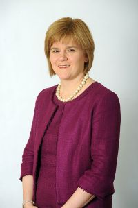 Nicola Sturgeon, First Minister of Scotland, and the only real antidote to mushy politics in the UK.