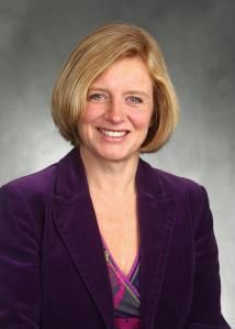 Rachel Notley, the new Premier of Alberta.