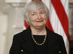 It's gonna be allright ... Janet Yellen when she was introduced to the world in 2013.