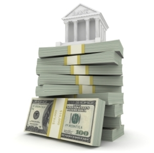 It's interesting how the traditional view of a bank looks like the Parthenon.