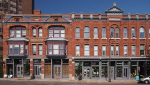 The Rochat-Louise-Sauerwein Block on West Seventh