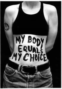 It's getting to the point where you label just who owns your body.  (you do)