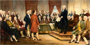 The only reason we can talk about the Founding Fathers as a group is they got over their petty differences.
