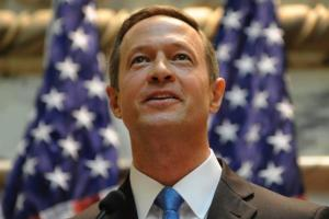 Martin O'Malley looking up?
