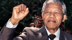 Nelson Mandela made a lot more progress as a fighter for peace and order.