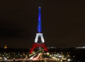 Stand with Paris - not fear.