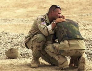 We know it happens in our soldiers.  But it is happening in all of us who live in a violent world.
