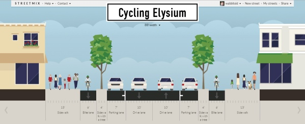 Bikes don't ask for much, but a safe bike route needs some space.
