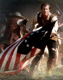 """There are no known portraits of Felix Walker, so here is a pic of Mel Gibson from """"The Patriot"""". Why not?"""