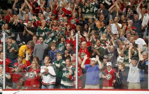 We love Wild fans - but there are a lot of them!