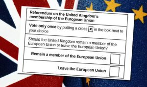 The ballot for 23 June.  A simple question loaded with complex considerations and emotions.