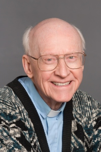 Father Clay, Pastor of St Stanislaus (St Stan's) Catholic Church since 1975.